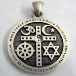 Interfaith Cross Pendant: Religious Symbols (Images)
