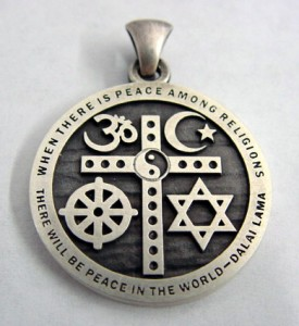 The Enoch Factor - Interfaith Cross Pendant is free w/purchase of the book.