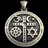 Interfaith Unity Pendant – Sterling Silver $79.99 ($3 for Shipping/Handling on US orders)
