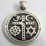 CROSS PENDANT SALE – $29.99 (plus S/H) Interfaith Unity, Oneness Symbol