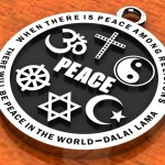 Religious Images - Interfaith Peace Pendant