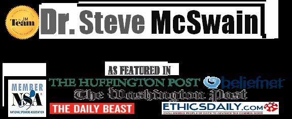 Dr. Steve McSwain, Speaker, Non-Profit Exec., Spiritual Teacher